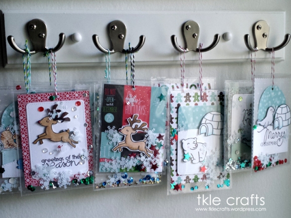 hanging cards